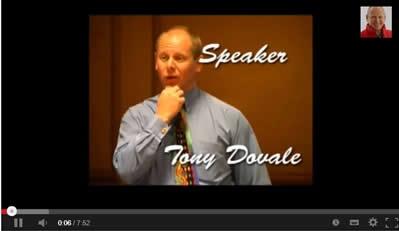 youtube tony dovale business speaker